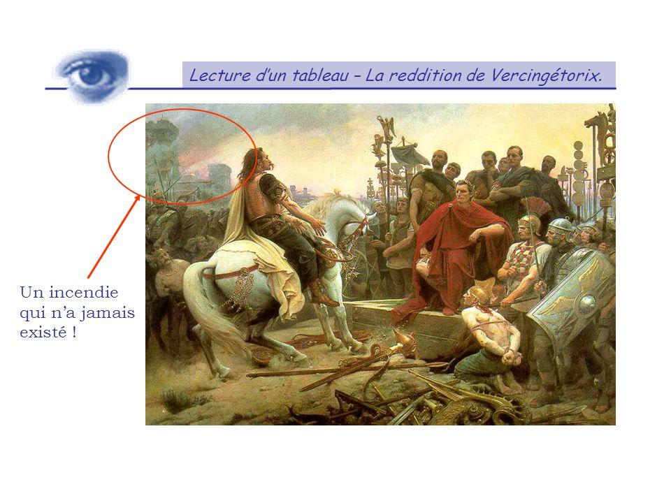 Lecture d'un tableau – La reddition de Vercingétorix.