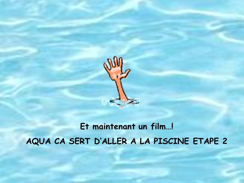 De la d couverte l adaptation ppt video online for Aller a la piscine