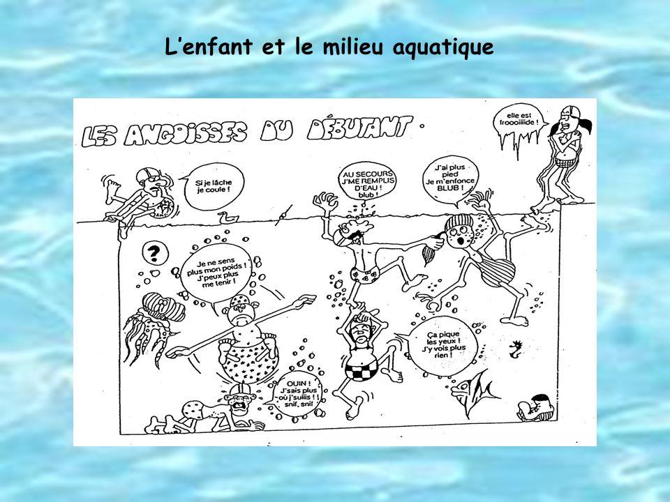 L'enfant et le milieu aquatique
