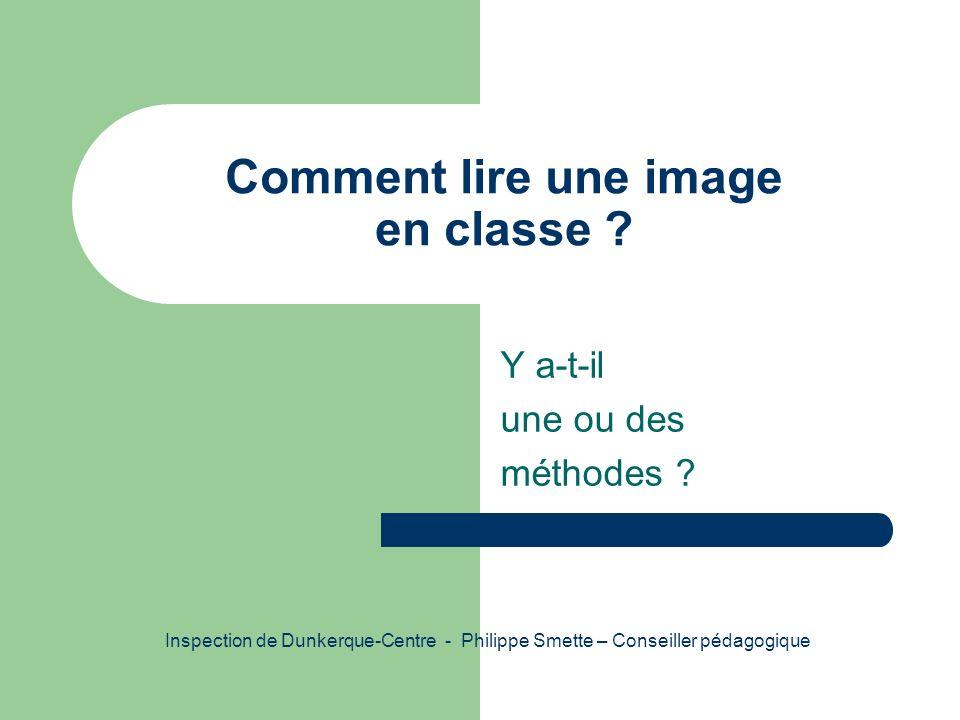 Comment lire une image en classe
