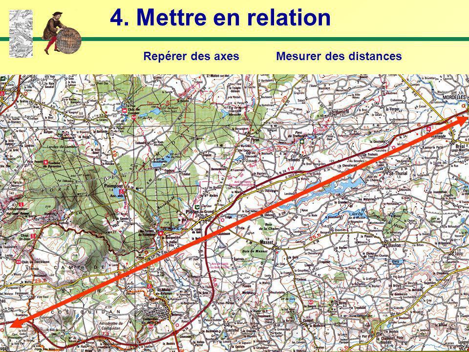4. Mettre en relation Repérer des axes Mesurer des distances
