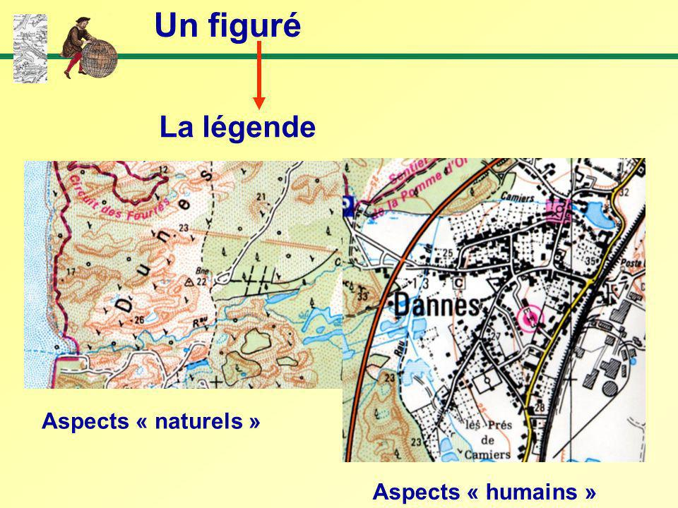Un figuré La légende Aspects « naturels » Aspects « humains »