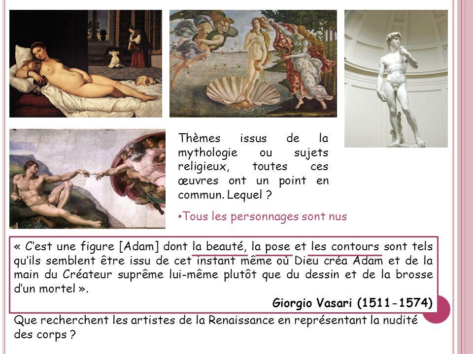 Thèmes issus de la mythologie ou sujets religieux, toutes ces œuvres ont un point en commun. Lequel