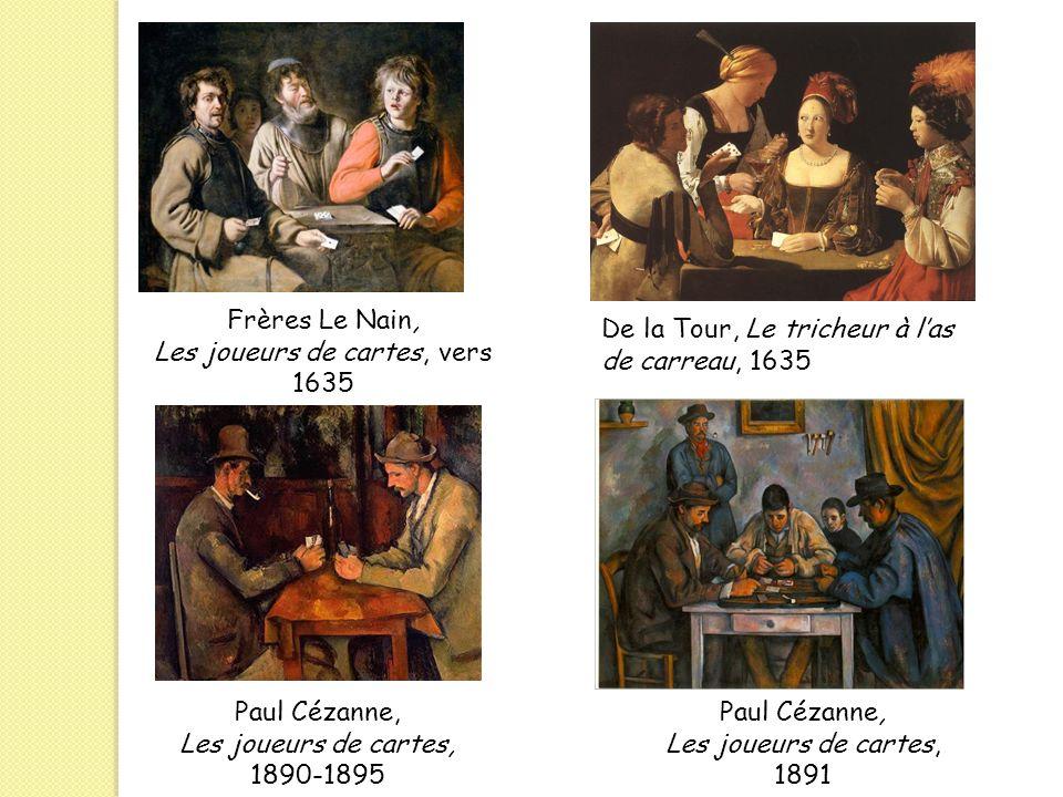 Les joueurs de cartes, vers 1635