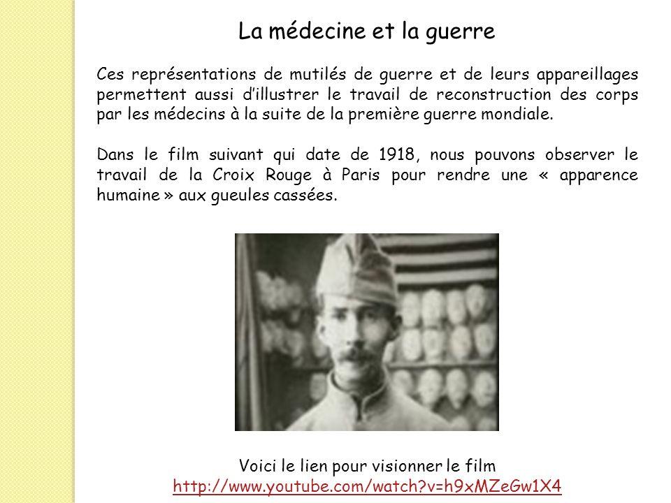 La médecine et la guerre