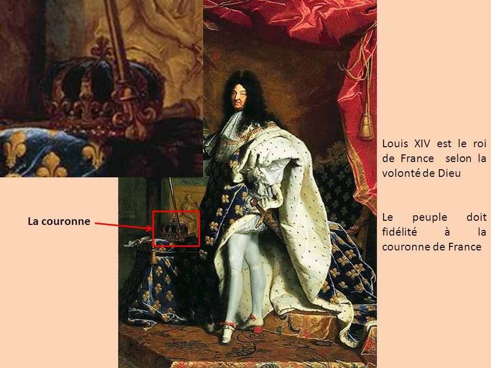 Louis XIV est le roi de France selon la volonté de Dieu