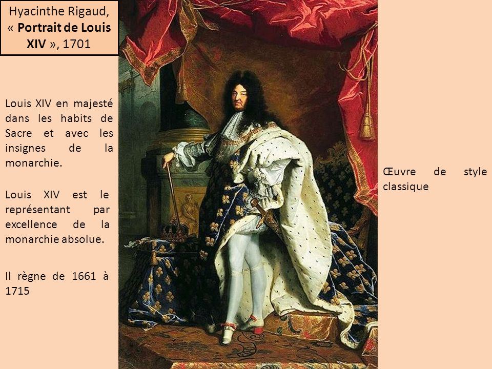 « Portrait de Louis XIV », 1701