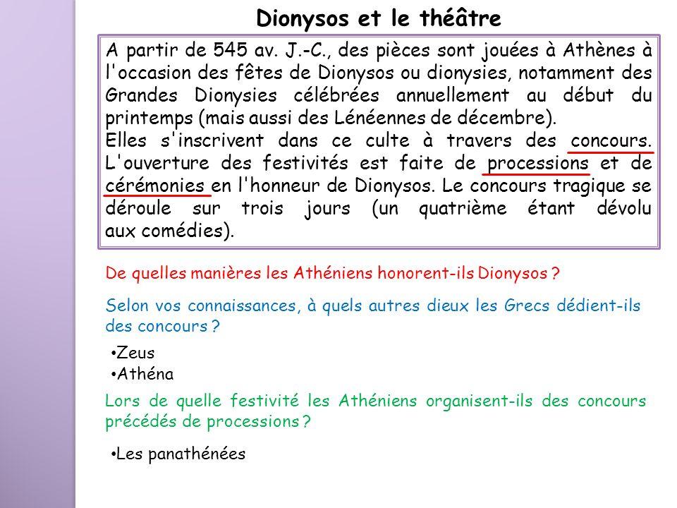 Dionysos et le théâtre