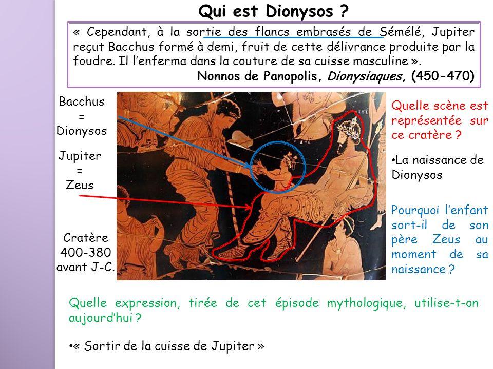 Qui est Dionysos