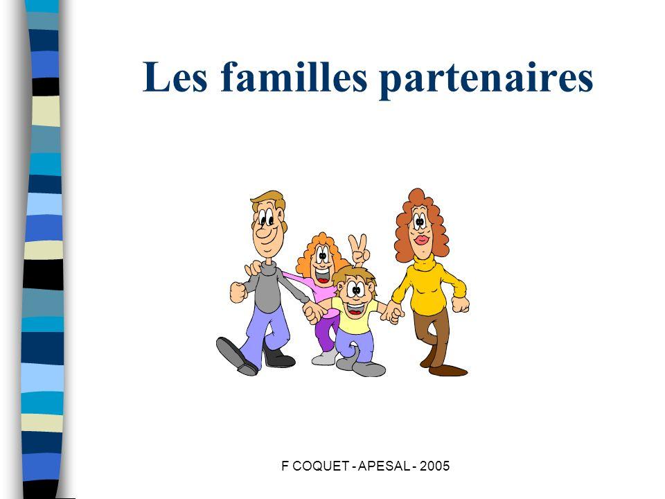 Les familles partenaires