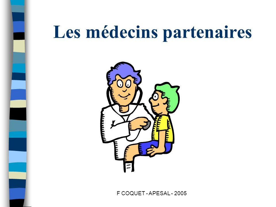 Les médecins partenaires