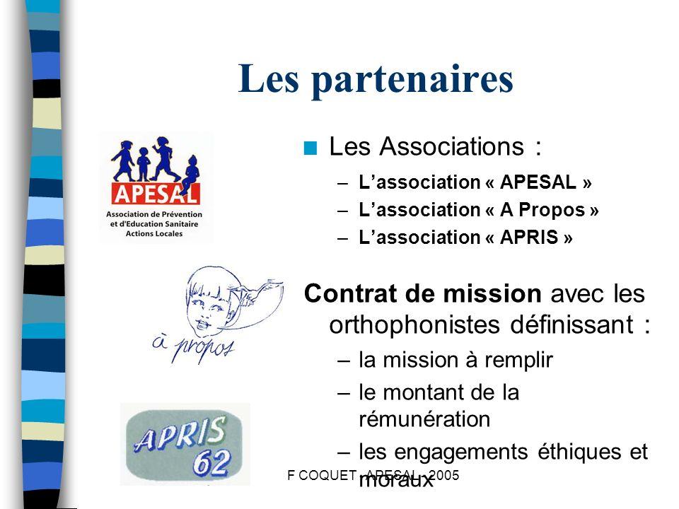 Les partenaires Les Associations :