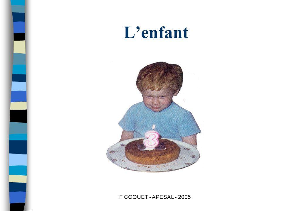 L'enfant F COQUET - APESAL - 2005