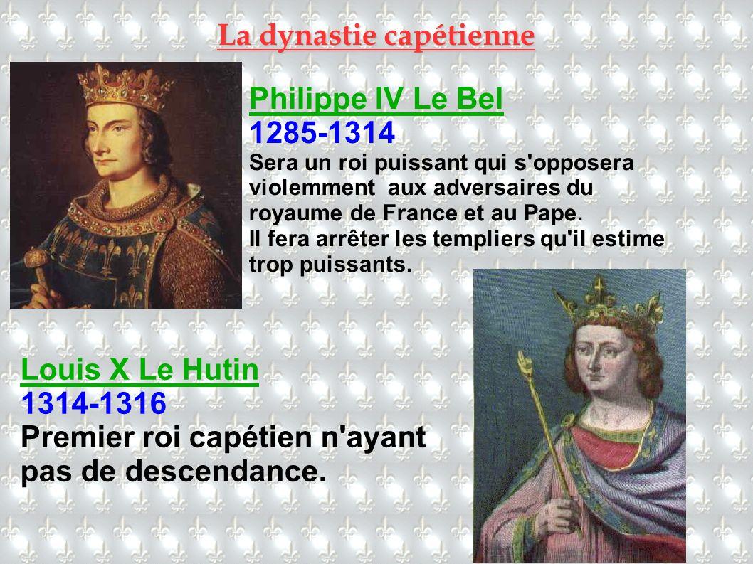 La dynastie capétienne