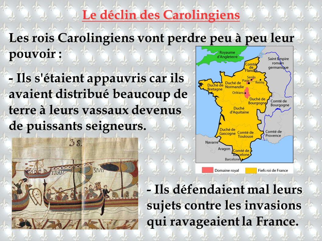 Le déclin des Carolingiens