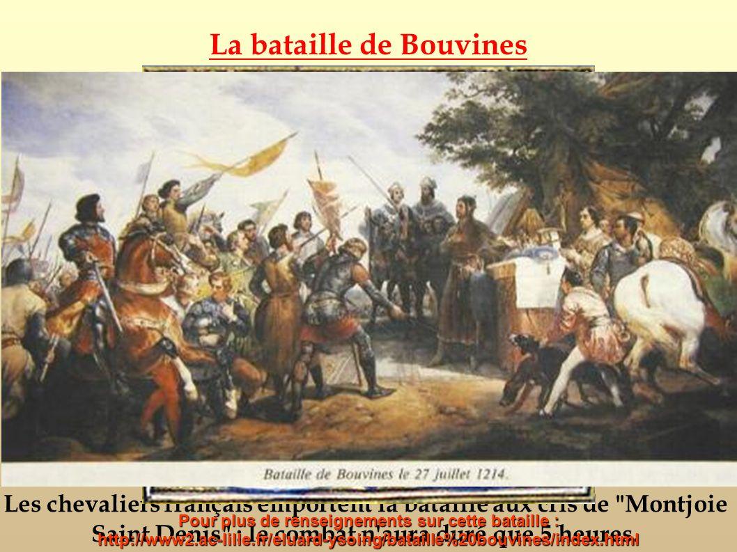 La bataille de Bouvines