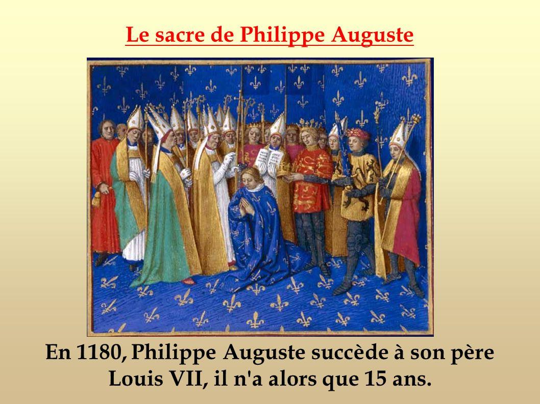Le sacre de Philippe Auguste
