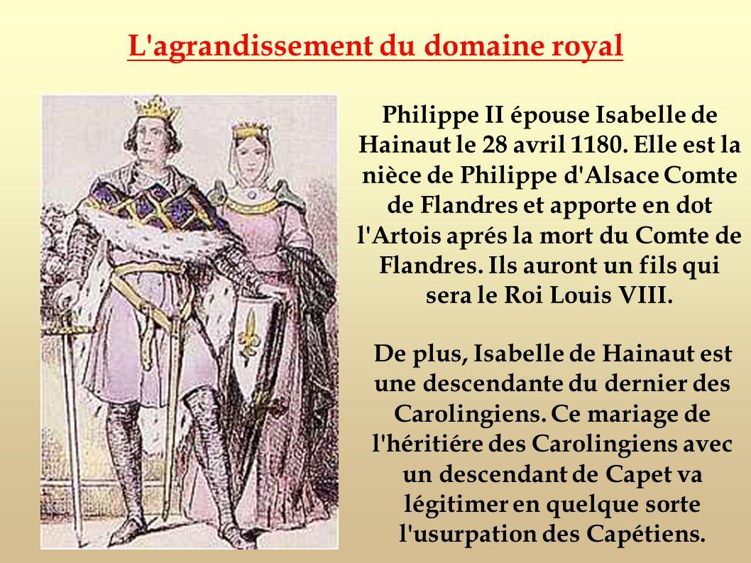 L agrandissement du domaine royal