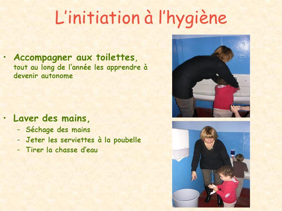 L'initiation à l'hygiène