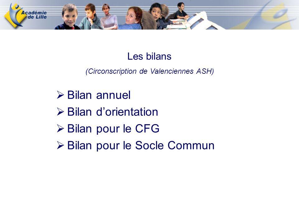 (Circonscription de Valenciennes ASH)
