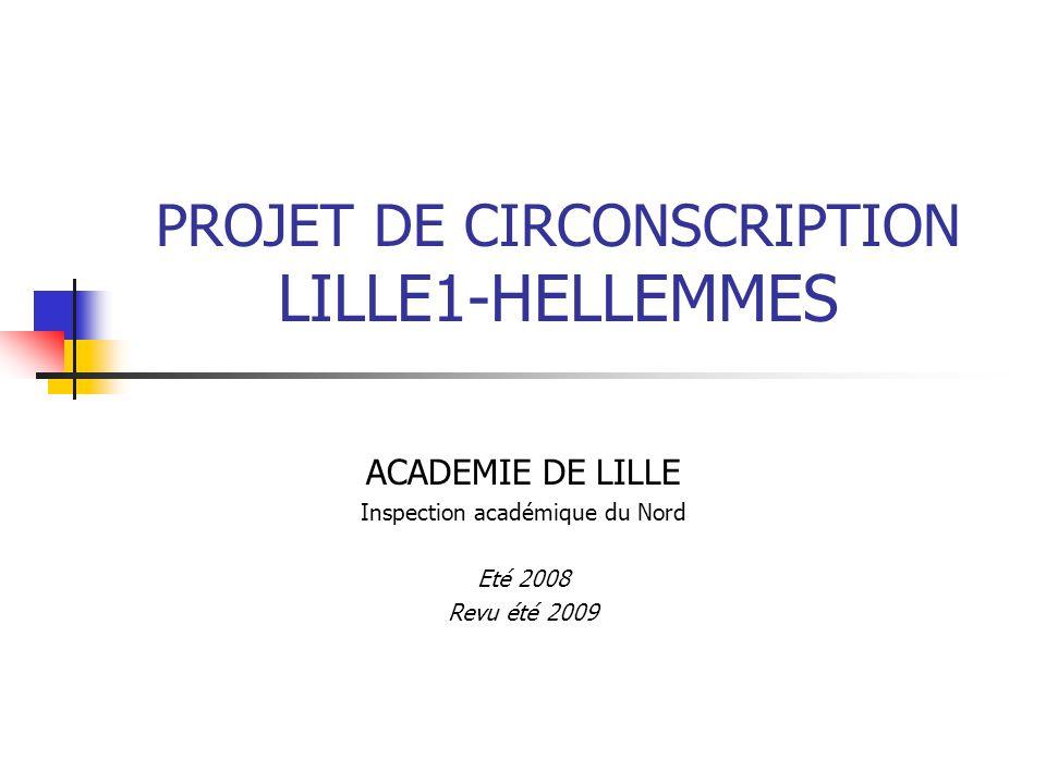 PROJET DE CIRCONSCRIPTION LILLE1-HELLEMMES