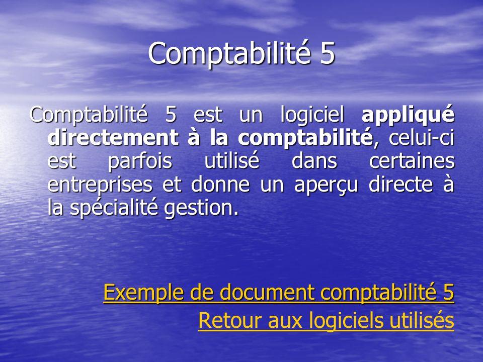 Comptabilité 5