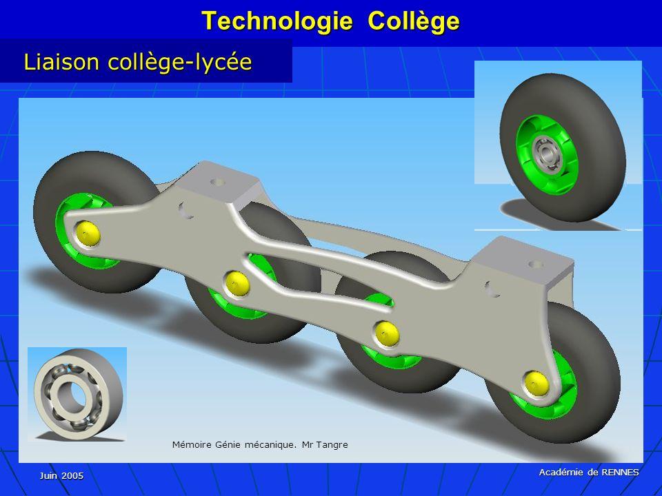 Technologie Collège Liaison collège-lycée