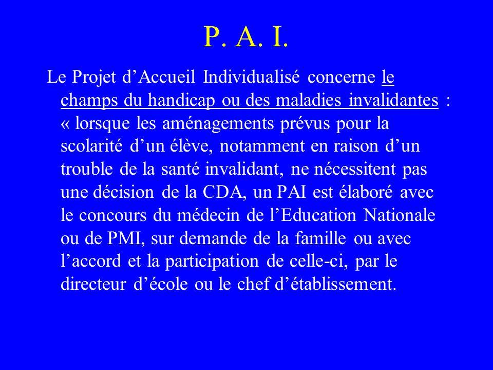 P. A. I.