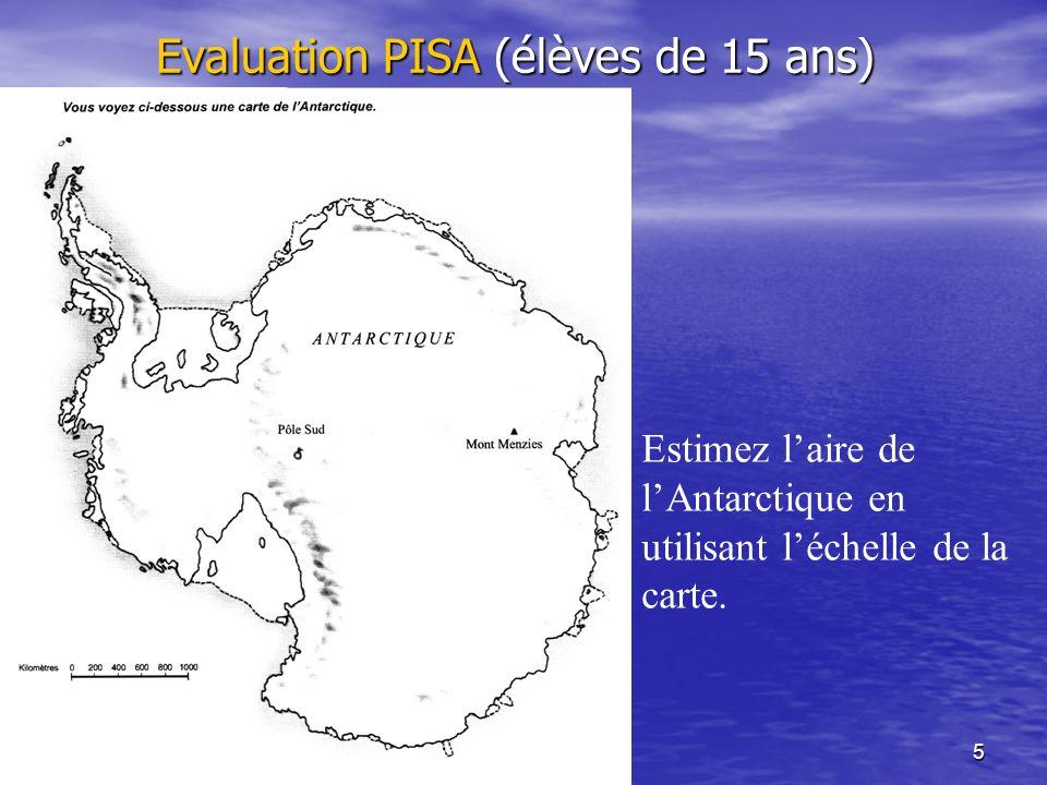Evaluation PISA (élèves de 15 ans)