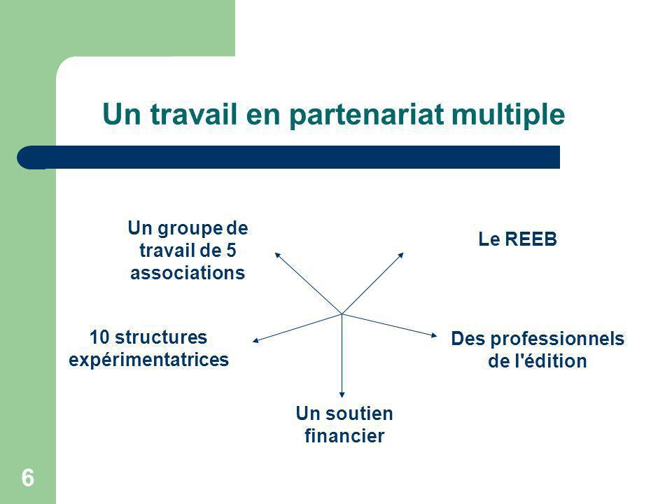 Un travail en partenariat multiple