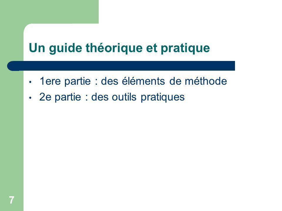 Un guide théorique et pratique