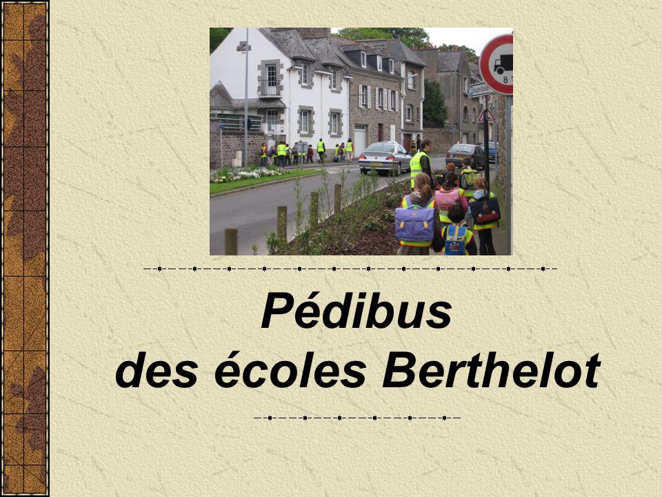Pédibus des écoles Berthelot