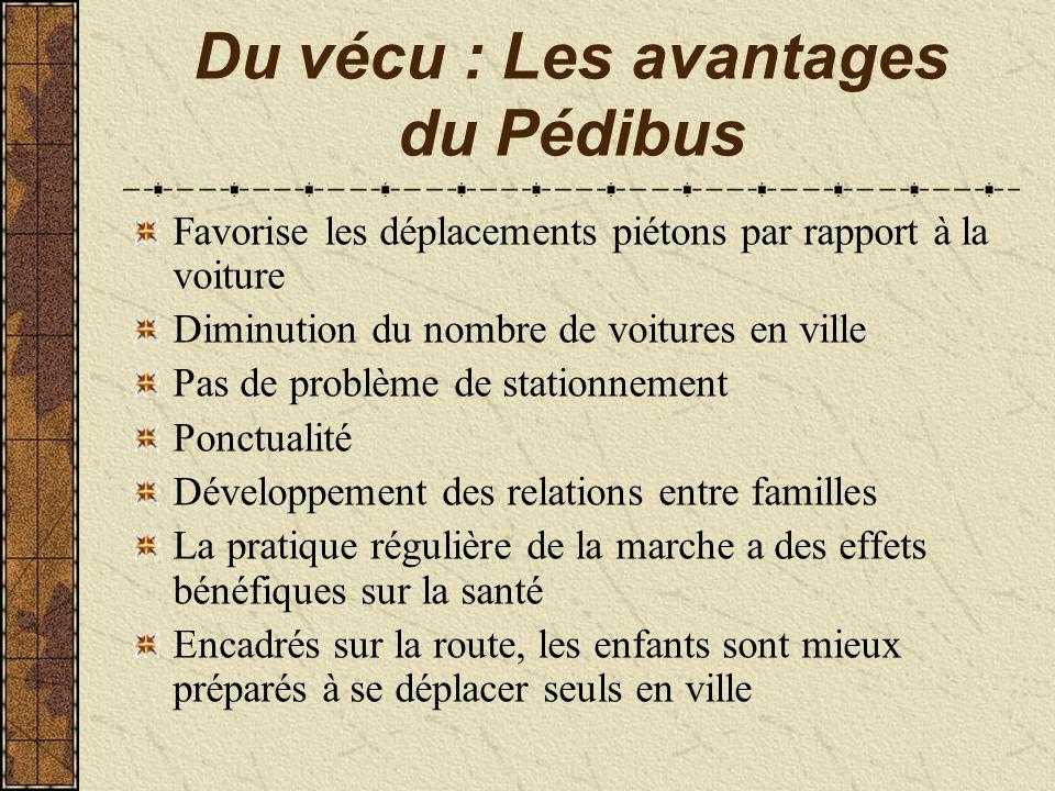 Du vécu : Les avantages du Pédibus