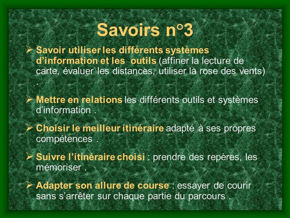 Savoirs n°3