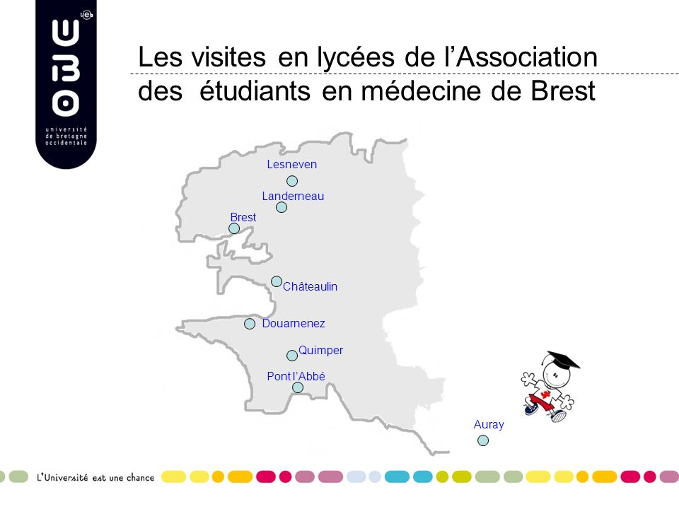 Les visites en lycées de l'Association des étudiants en médecine de Brest