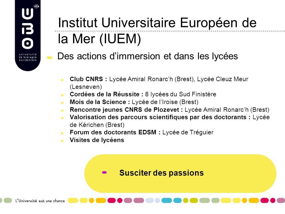 Institut Universitaire Européen de la Mer (IUEM)
