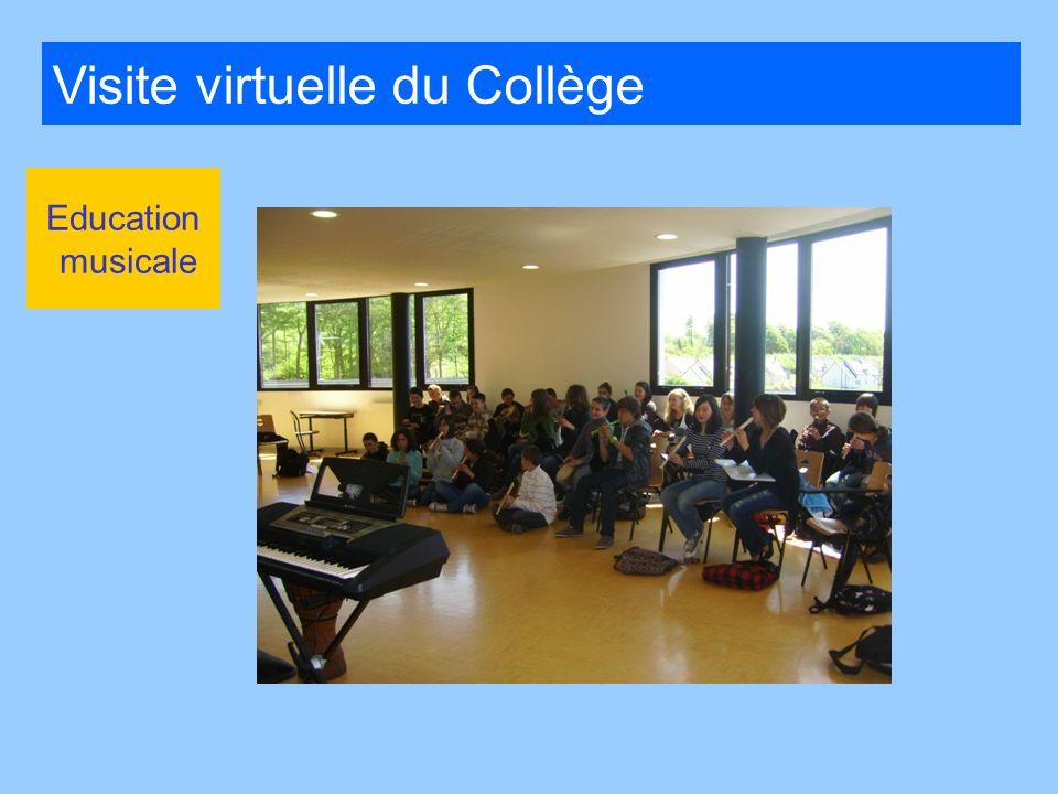 Visite virtuelle du Collège
