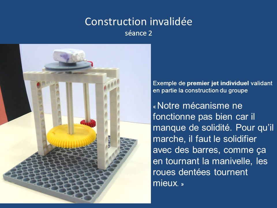 Construction invalidée séance 2