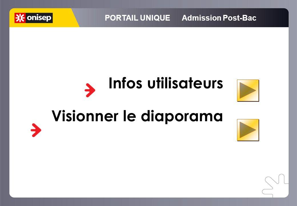PORTAIL UNIQUE Admission Post-Bac