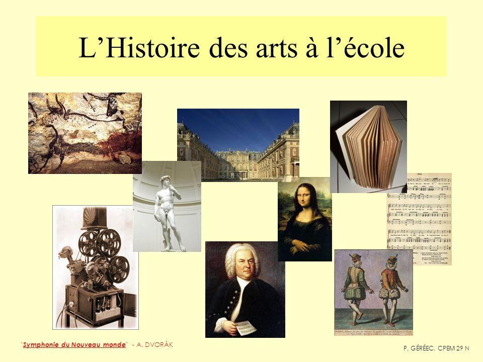 L'Histoire des arts à l'école