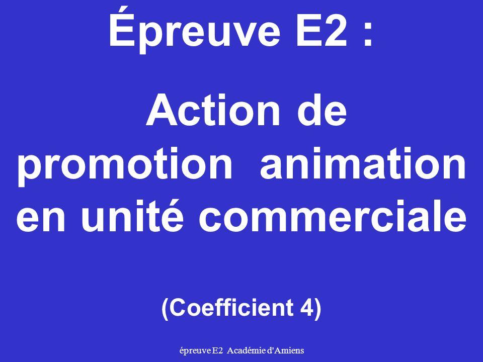 promotion animation en unité commerciale