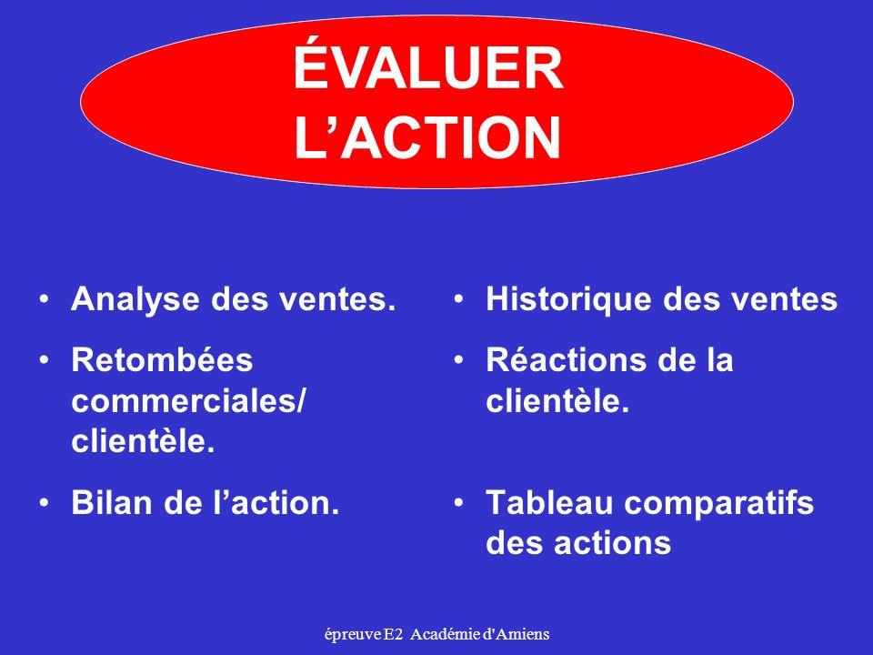 épreuve E2 Académie d Amiens