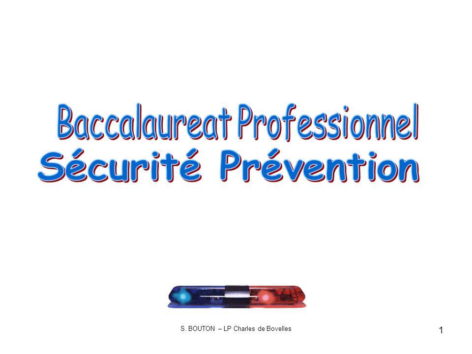 Sécurité Prévention Baccalaureat Professionnel