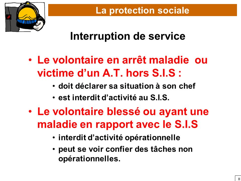 Interruption de service