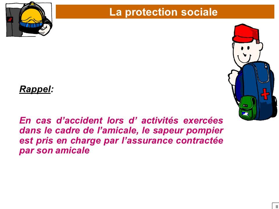 La protection sociale Rappel: