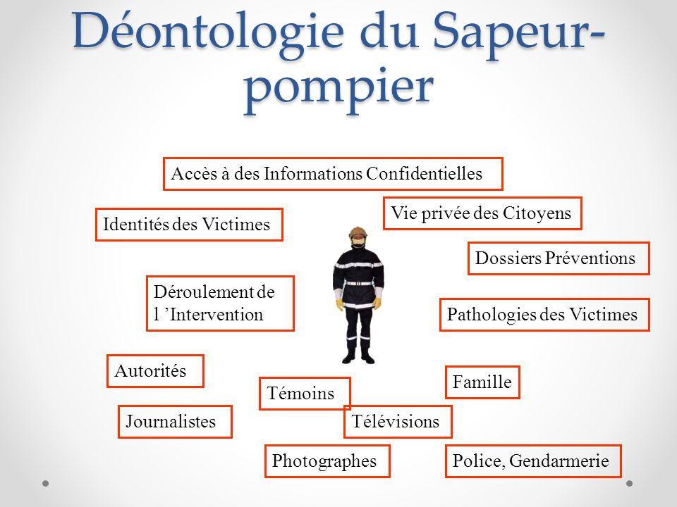 Déontologie du Sapeur-pompier