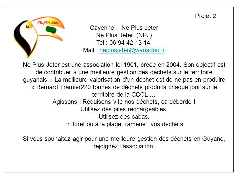 Projet 2 Cayenne Ne Plus Jeter.