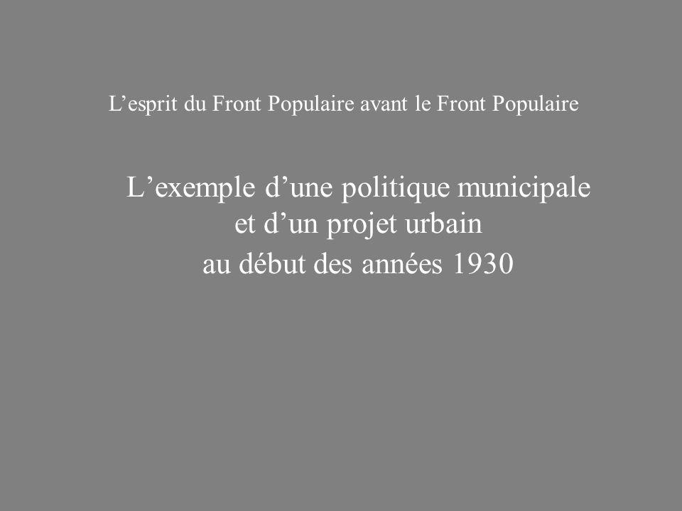 L'esprit du Front Populaire avant le Front Populaire
