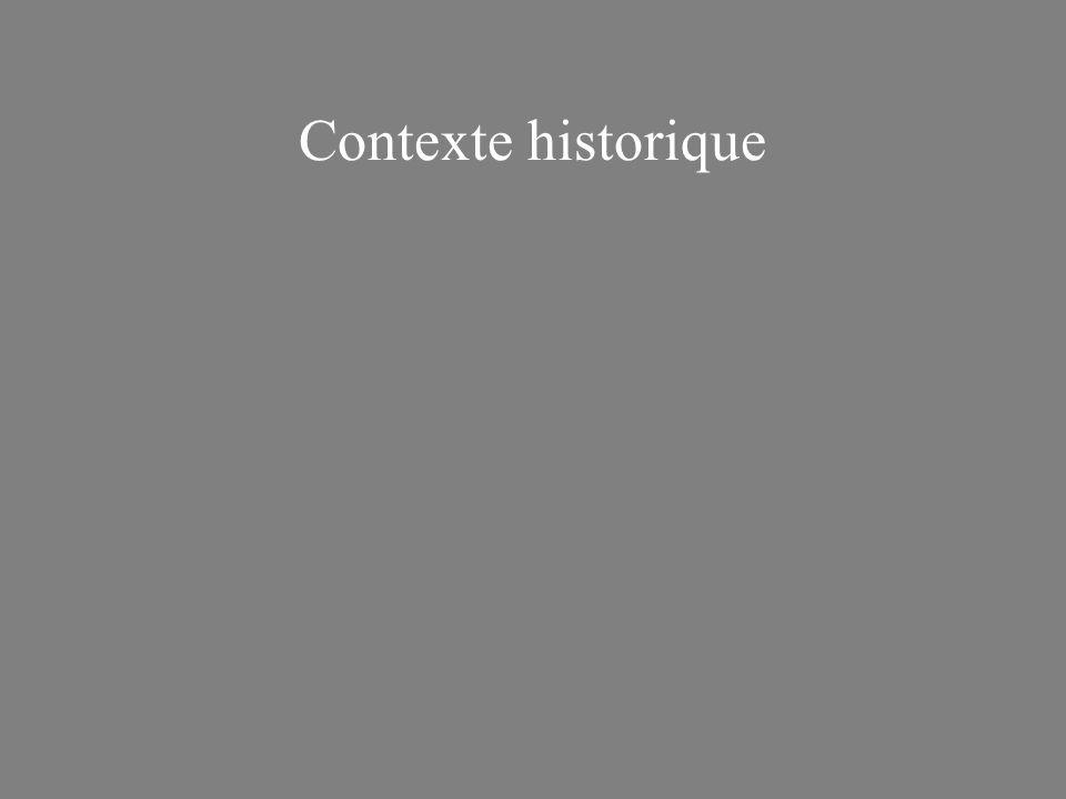 Contexte historique