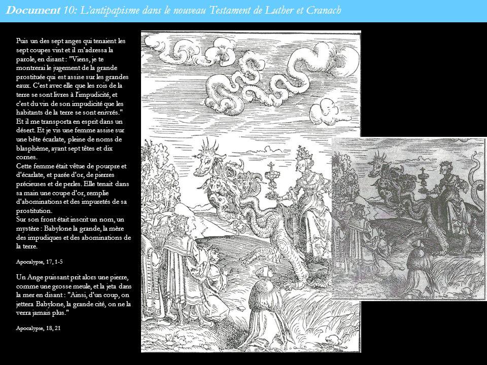 Document 10: L'antipapisme dans le nouveau Testament de Luther et Cranach